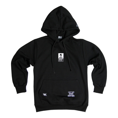 HUSTLE KING SEJONG shorty hoodie
